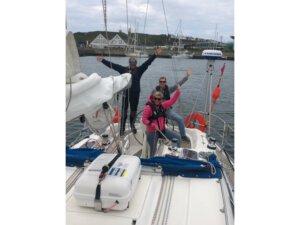 Paartraining - gemeinsamer Spaß beim Segeln